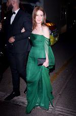JULIANNE MOORE Arrives at Cannes Film Festival Gala Dinner 05/14/2019