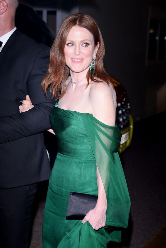 JULIANNE MOORE Arrives at Cannes Film Festival Gala Dinner 05/14/2019