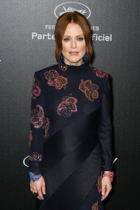 JULIANNE MOORE at Chopard Party at 2019 Cannes Film Festival 05/17/2019