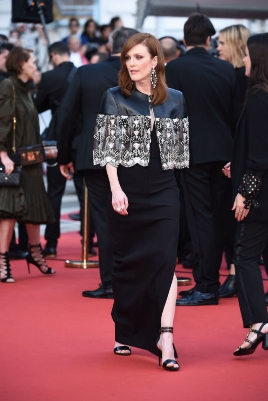 JULIANNE MOORE at Les Miserables Screening at 2019 Cannes Film Festival 05/15/2019