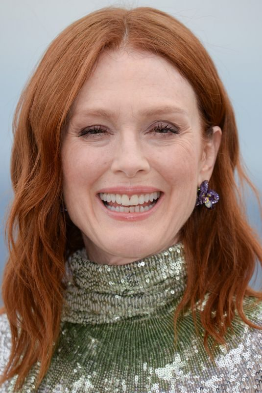 JULIANNE MOORE at The Staggering Girl Photocall at 72nd Annual Cannes Film Festival 05/17/2019