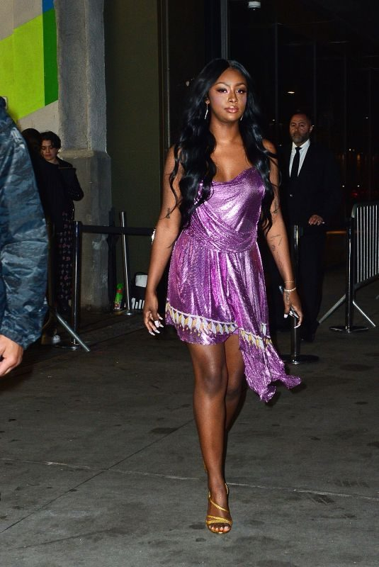 JUSTINE SKYE Arrives at Cipriani in New York 05/04/2019