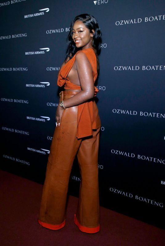 JUSTINE SKYE at Ozwald Boateng Harlem Runway Show in New York 05/05/2019