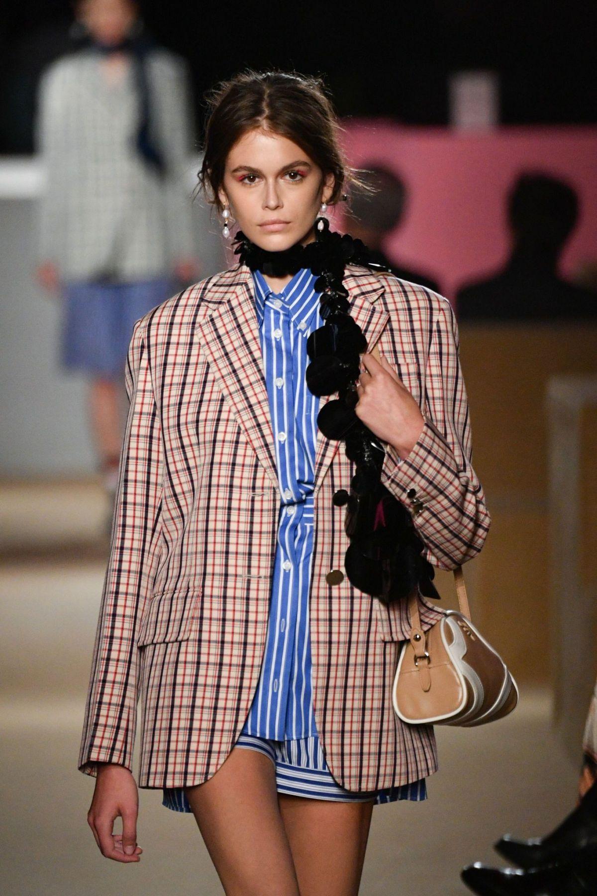 d7e7f1691554 KAIA GERBER at Prada Resort 2020 Fashion Show in New York 05 02 2019 ...