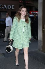 KAITLYN DEVER Arrives at Today Show in New York 05/21/2019