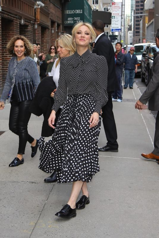 KALEY CUOCO Arrives at Late Show with Stephen Colbert in New York 05/16/2019