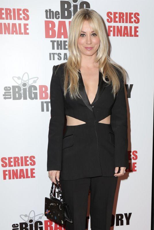 KALEY CUOCO at The Big Bang Theory Finale Party in Pasadena 05/01/2019