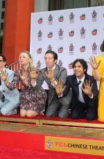 KALEY CUOCO at The Big Bang Theory Handprint Ceremony in Hollywood 05/01/2019