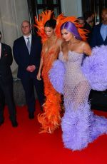KANDALL and KYLIE JENNER Heading to Met Gala 2019 in New York 05/06/2019