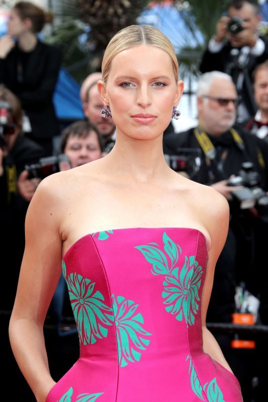 KAROLINA KURKOVA at Once Upon a Time in Hollywood Screening at Cannes Film Festival 05/21/2019