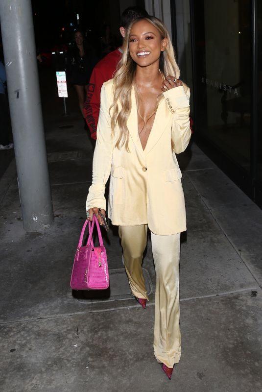 KARRUECHE TRAN at Catch LA in West Hollywood 05/23/2019