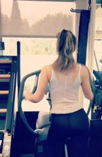 KATE BECKINSALE Workout at a Gym - Instagram Pictures and Video 05/28/2019