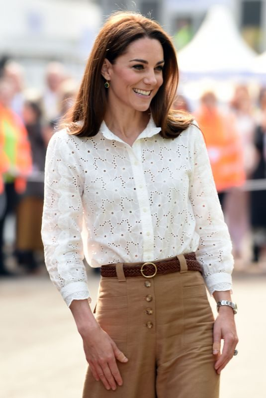 KATE MIDDLETON at RHS Chelsea Flower Show 2019 in London 05/20/2019