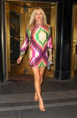 KATE MOSS Night Out in New York 05/07/2019