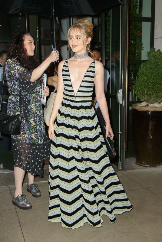 KATHRYN NEWTON Leaves Her Hotel in New York 05/29/2019