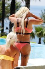 KATIE PRICE in Bikini at a Pool in Turkey 05/16/2019