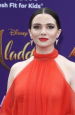 KATIE STEVENS at Aladdin Premiere in Los Angeles 05/21/2019