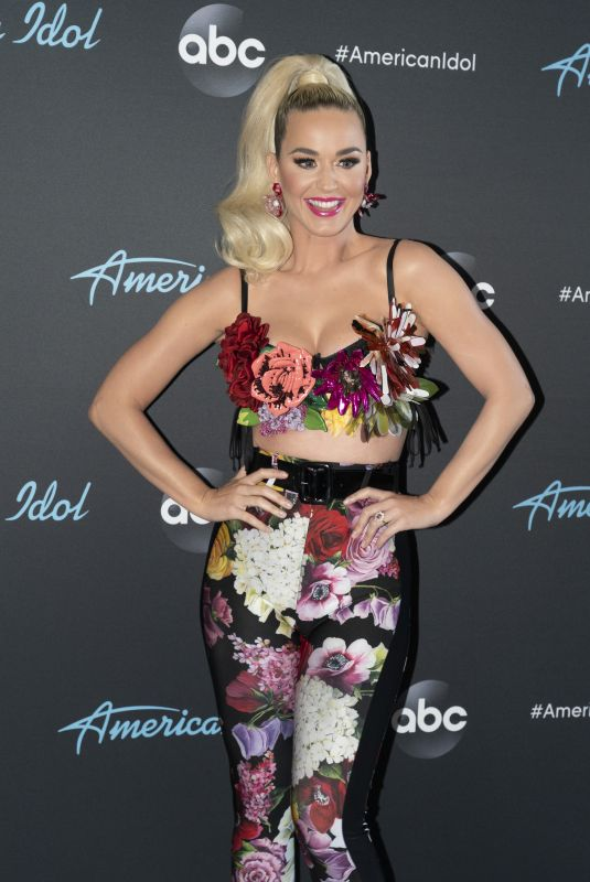 KATY PERRY at American Idol Top 5 Show in Los Angels 05/12/2019