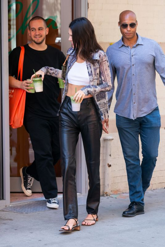 KENDALL JENNER at Chacha Matcha in New York 05/11/2019