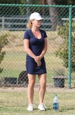 KENDRA WILKINSON in a Tight Dress Out in Los Angeles 05/05/2019
