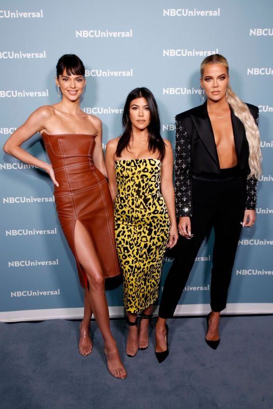 KHLOE and KOURTNEY KARDASHIAN and KENDALL JENNER at NBCUniversal Upfront Presentation in New York 05/13/2019