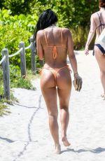 KHLOE TERAE and BRE TIESI in Bikinis at a Beach in Miami 05/29/2019