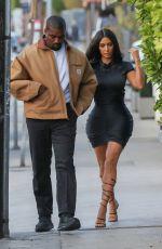 KIM KARDASHIAN and Kanye West at Giorgio Baldi in Santa Monica 05/23/2019
