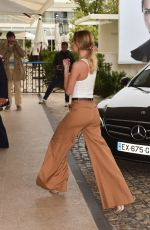 KIMBERLEY GARNER Arrives at Martinez Hotel in Cannes 05/18/2019
