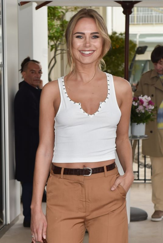 KIMBERLEY GARNER Arrives at Martinez Hotel in Cannes 05/18/2019