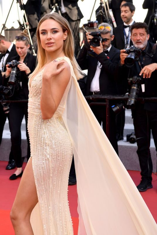 KIMBERLEY GARNER at The Traitor Screening at 72nd Annual Cannes Film Festival 05/23/2019