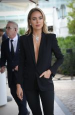 KIMBERLEY GARNER Leaves Hotel Martinez in Cannes 05/19/2019
