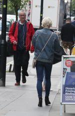 KIMBERLY WYATT in Double Denim Out in London 05/16/2019