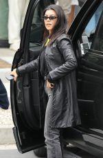 KOURTNEY KARDASHIAN Arrives at Kanye West