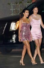 KOURTNEY KARDASHIAN Leaves Kylie Jenner