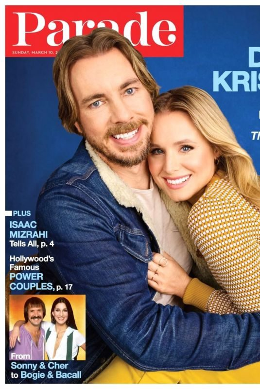 KRISTEN BELL and Dax Shepard in Parade Magazine, March 2019