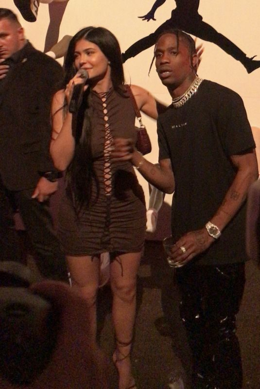 KYLIE JENNER at Travis Scott's Birthday Party in Los Angeles 05/01/2019