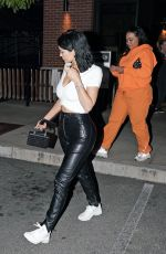 KYLIE JENNER Out for Dinner in Los Angeles 05/23/2019