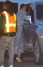 KYLIE JENNER Out for Dinner in Malibu 05/12/2019