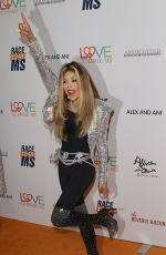 LA TOYA JACKSON at Race to Erase MS Gala in Beverly Hills 05/10/2019