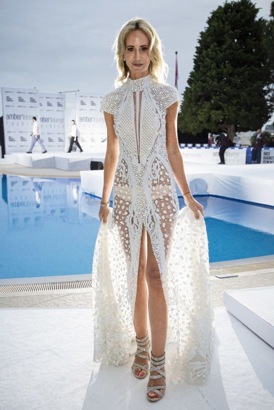 LADY VICTORIA HERVEY at Amber Lounge Fashion Show in Monaco 05/24/2019
