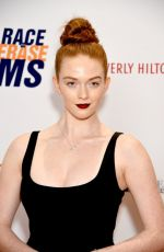 LARSEN THOMPSON at Race to Erase MS Gala in Beverly Hills 05/10/2019