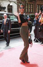 LAURA HARRIER Arrives at Mark Hotel in New York 05/06/2019