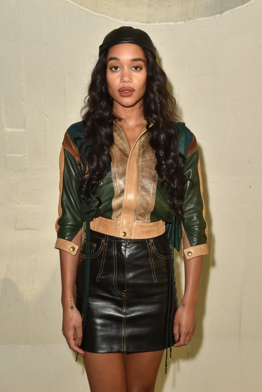 LAURA HARRIER at Louis Vuitton Cruise 2020 Fashion Show at JFK Airport in New Yokr 05/08/2019