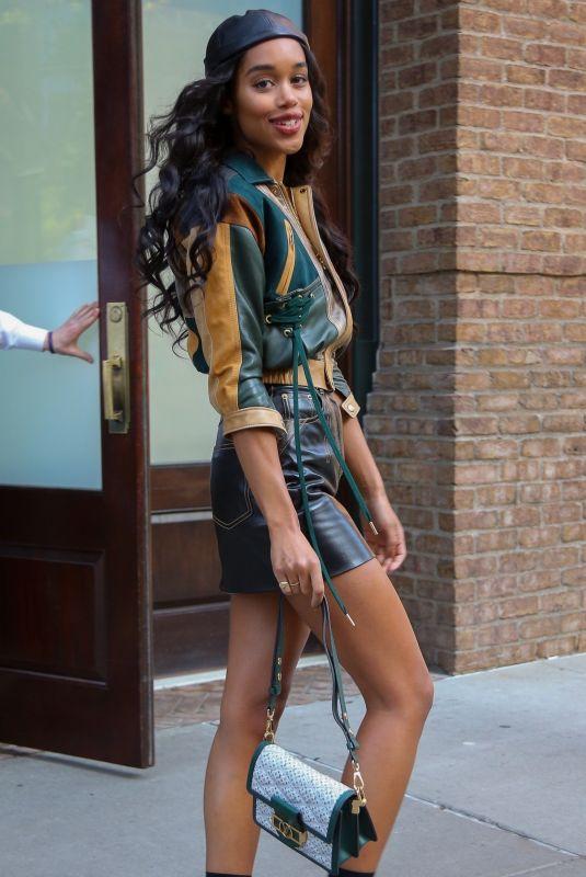 LAURA HARRIER Leaves Greenwich Hotel in New York 05/08/2019