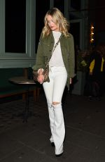 LAURA WHITMORE at Sexy Fish Restaurant in London 05/10/2019