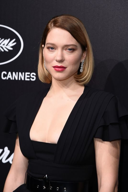 LEA SEYDOUX at Official Trophee Chopard Dinner at Cannes Film Festival 05/20/2019