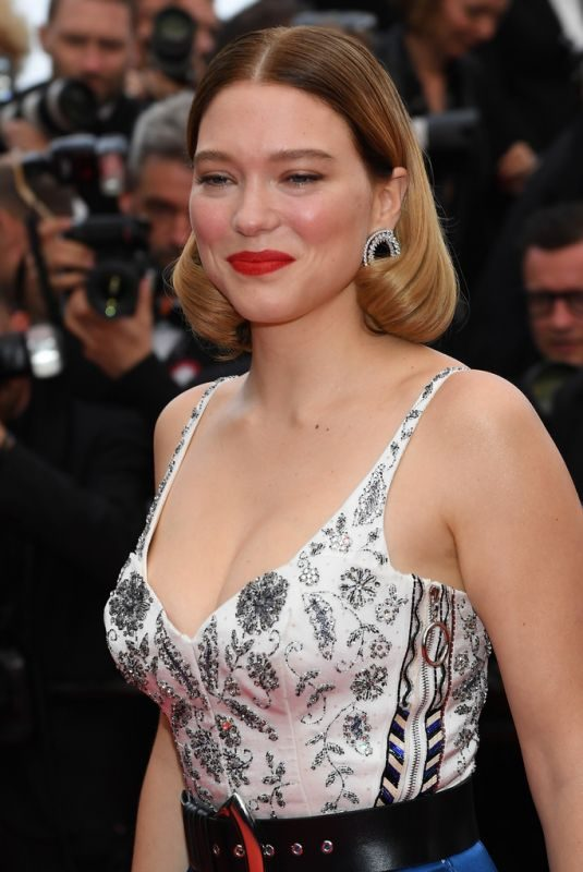 LEA SEYDOUX at Oh Mercy! Screening at 2019 Cannes Film Festival 05/22/2019