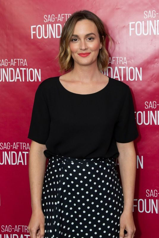 LEIGHTON MEESTER at Sag-aftra Foundation Conversations with Single Parents in Los Angeles 05/02/2019
