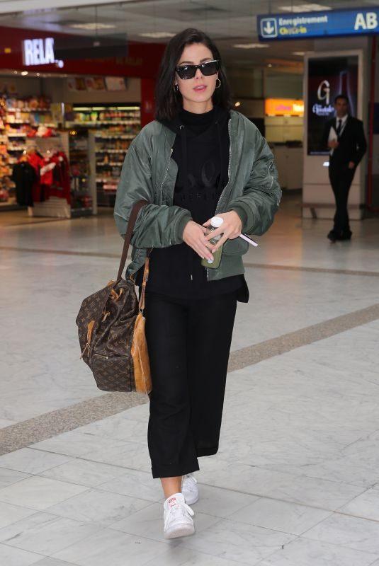 LENA MEYER-LANDRUT at Nice Airport 05/19/2019