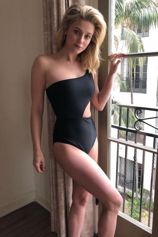 LILI REINHART in Swimsuit - Instagram Picture 05/14/2019